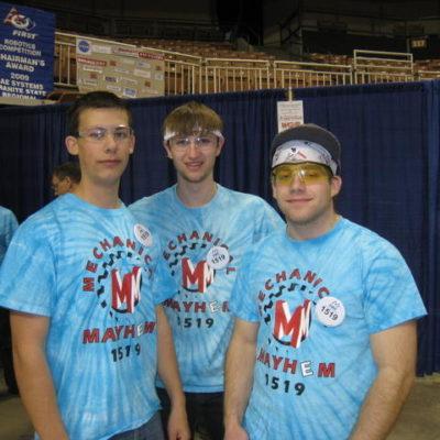 Amazing drive team -Tim P., Benji P., Justin C.