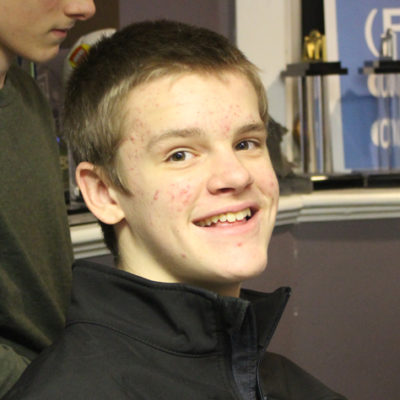 My name is Benjamin Bell.  I'm 14 years old, almost 15.  I enjoy computers, video games, and playing outside.  I've done six years of FIRST LEGO League (FLL) and this is my first year of FRC. I've mainly been learning how to build and use the tools properly.