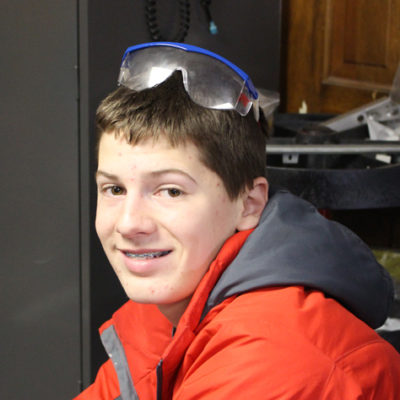 I'm Samson and this is my FRC rookie year with Mechanical Mayhem. I am on the Shooter build subteam. I play football and lacrosse for the Milford High School and play lacrosse for 4-Leafs New England. I am also an Honors student at Milford High School.  I am a Boy Scout and am finishing the last of the requirements for Eagle Scout. In my spare time, I enjoy video games, cooking, eating, weight training, hiking, camping, and his cats.