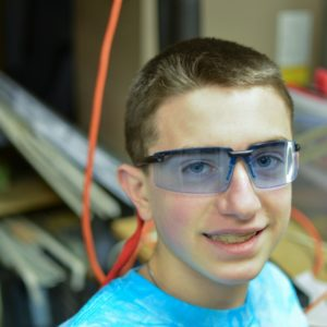 Sean is beginning his first year on team Mayhem following 4 years of FLL. He is ready to learn and help with anything the team might need. Sean is 14 and is currently in his first year of high school.