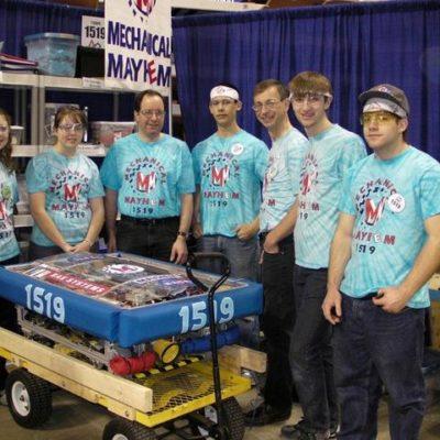 Pit crew & Drive team:  Sarah B., Lizzie P., Coach Streeter, Tim P., Coach Poore, Benji P., Justin C.