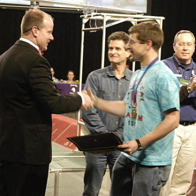 Nathan S., was chosen as a Dean's list Finalist.  Well deserved.