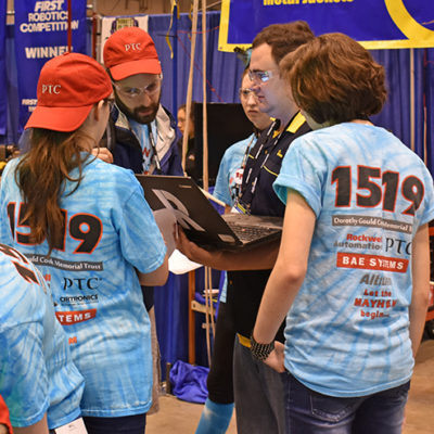 Pick list discussion with FRC Team 829