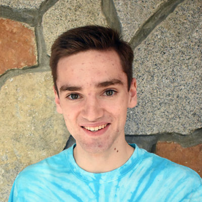 Hey, my name is Carson. This is my third year on Mechanical Mayhem. This year, I have been working on the Hatch panel intake and the arm. I also love the competitions! Outside of robotics, I like hanging with my family, playing spikeball and soccer, playing piano, and singing. (I might sing a little at robotics too...)